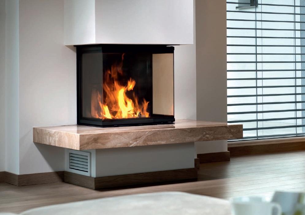 Spartherm Modern Wood Fireplace Three Si Toronto Comfort