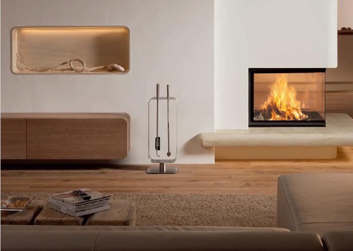 Spartherm Modern Wood Fireplace Three Si Toronto Comfort Zone Inc