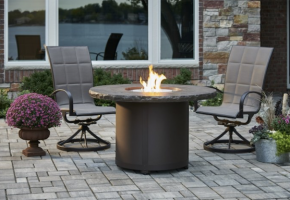 Beacon Dining Height Gas Fire Pit Table