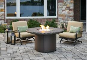 Beacon Chat Height Gas Fire Pit Table