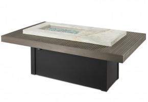 Boardwalk Linear Fire Pit Table