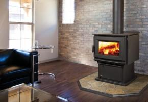 Extra large wood stove