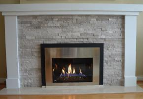 Plain mantel