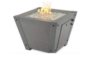 Axel square gas fire pit