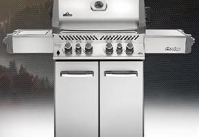 Prestige 500 with infrared side and rear burners