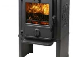 Wood stove for small rooms